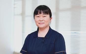 スタッフ紹介・白枝昌子